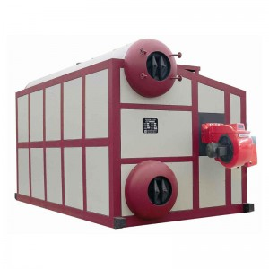 SZS series oil / gas hot water pipe boiler