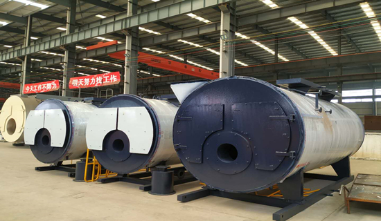 WNS series oil  gas water boiler配图 (1)