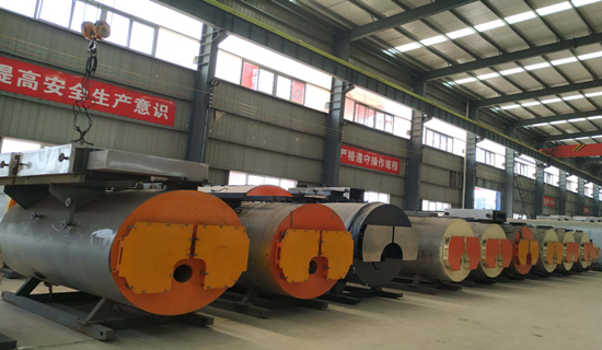 WNS series oil  gas water boiler配图 (3)