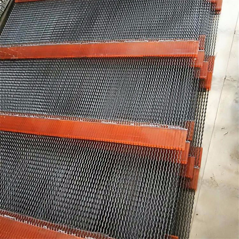 Steel and Polyurethane Material Poly Ripple Screen Self Cleaning Screen