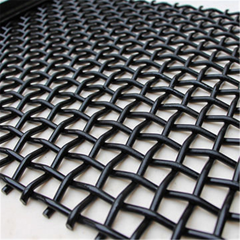 Customized Size Woven Vibrating Screen Wire Mesh for Ore Screening