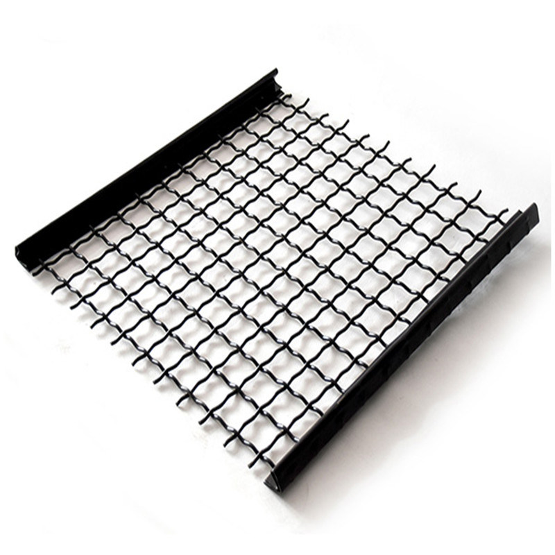 0.71mm-12.5mm Woven Screen Wire Mesh with Steel Wire for Screening