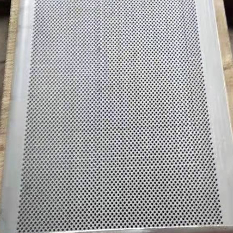 SUS304 or SUS316 Vibrating Screen Plate with Hole Type
