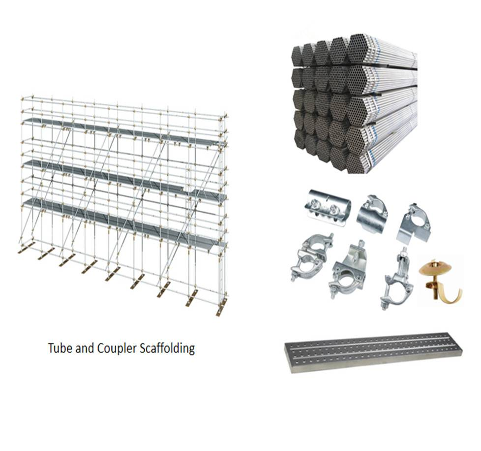Tube & Coupler Scaffolding