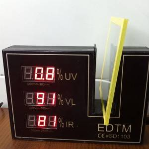 Colourless Transparent Anti-UV Coating