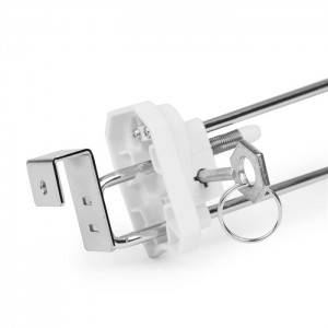 Patent Security hook with Square Tube bottom