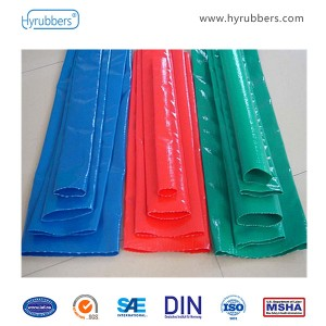 PVC SPECIAL HIGH STRENGTH LAYFLAT HOSE