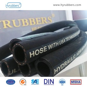 Factory wholesale Oil Resistant Nitrile Rubber Hose -