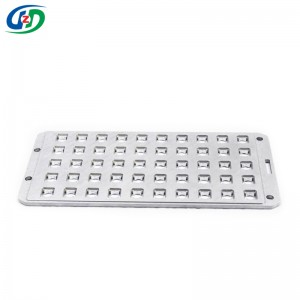 Precision Aluminum alloy carrier parts