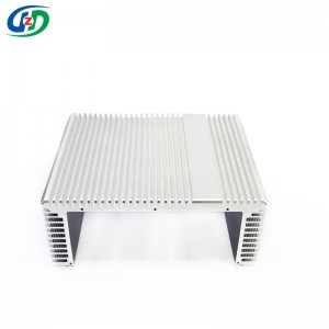 Top Quality Aluminum Circular Heat Sink -