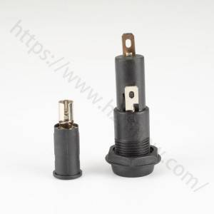 15a panel fuse holder,5x20mm,250v,H3-44B | HINEW