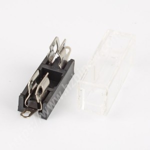 Portafusibile 5x20mm, 250V, 10A, PBT, H3-10C |  HINEW