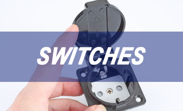 Switches are commonly used in electronic circuits. They enable control of the circuit by switching it on/off or controlling a range of other features.