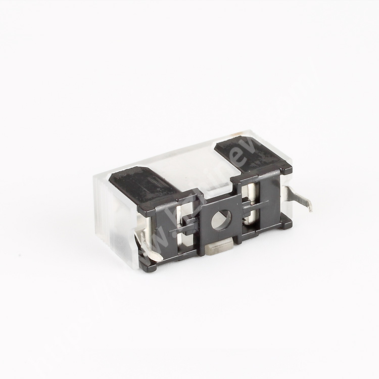 Amp fuse block,10A,250V,5×20,PC,H3-66B | HINEW Featured Image