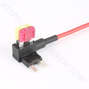 Auto fuse holder with wires,Small,PVC,H3-84B | HINEW