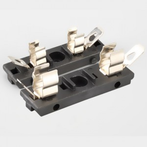 blade fuse holder pcb mount,15A,250VAC,5X20mm | HINEW-H3-45