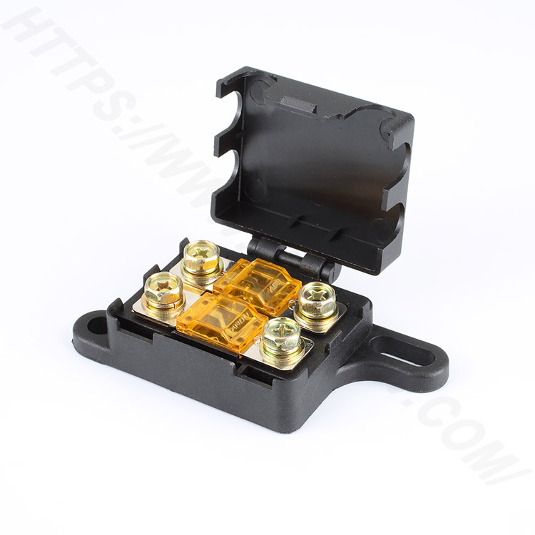 Fuse blocks for cars,32V,48V,72V,200A,AD197 | HINEW Featured Image
