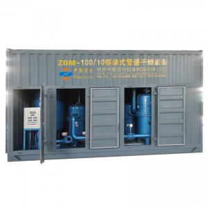 ZDM Mobile pipe dryer