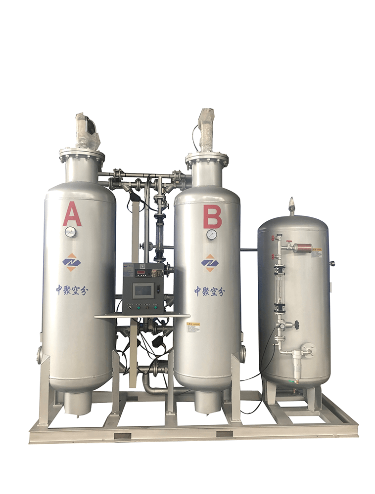 Working principle of PSA oxygen generator