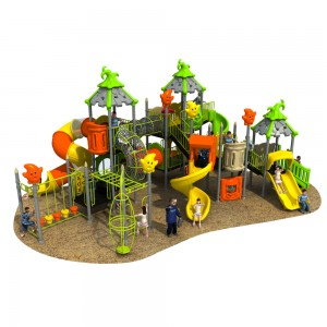 Children Plastic Outdoor Playground Slides For Manufacturer