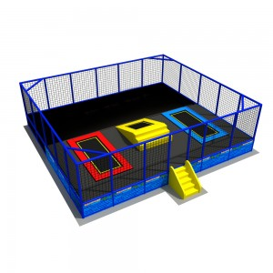 professional gymnastic trampolome bed or trampoline park for sale