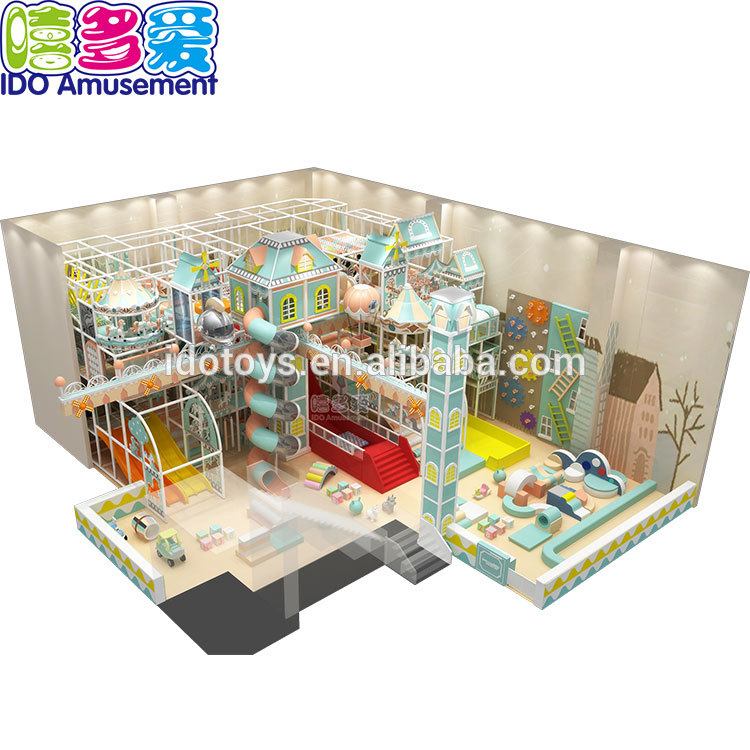 Baby Kids Children Indoor Soft Playground Castle Theme Games Park For Fun Places