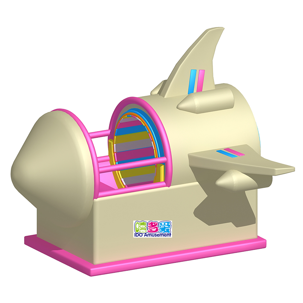 2019 wholesale price Electric Games Of Soft Play Area - Electric Indoor Playground Equipment Kids Soft Play Rotating Toy Airplane Space Shuttle Time Travel for Toddler Hot Sales – IDO Amusement