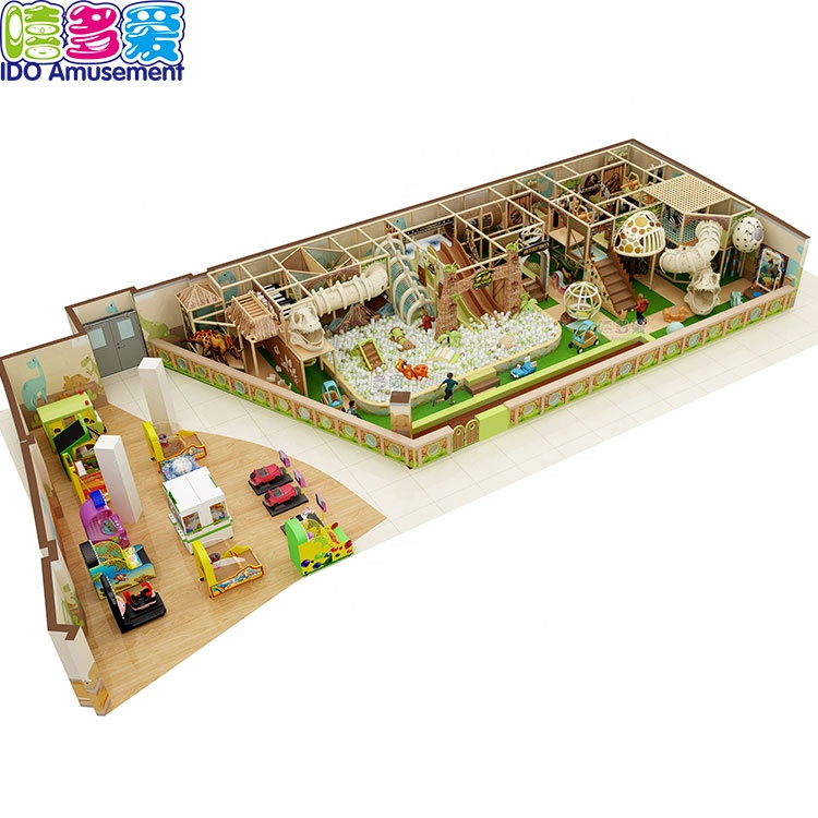 Good Quality Forest - Forest Theme Plastic Catch Air Indoor Playground – IDO Amusement