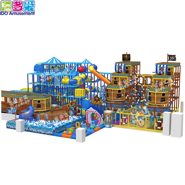 Kids Favorite Paradise Playground Indoor Children Playground Soft Play Area In Guangzhou