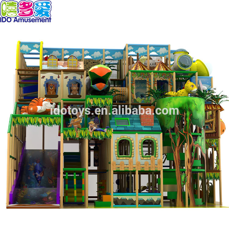 2019 New Design Children Beautiful Jungle Gym Theme Parks Playground Soft Play Areas Kids Indoor Equipment For Sale