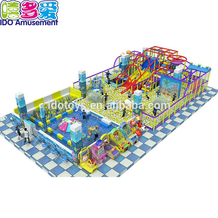 Guangzhou Ido Amusement Kids Commercial Indoor Soft Play Playground Equipment