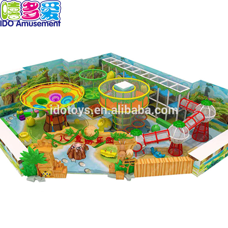 Professional China Commercial Jungle Indoor Playground - CE 0700 approved European standard indoor playground include equipment – IDO Amusement