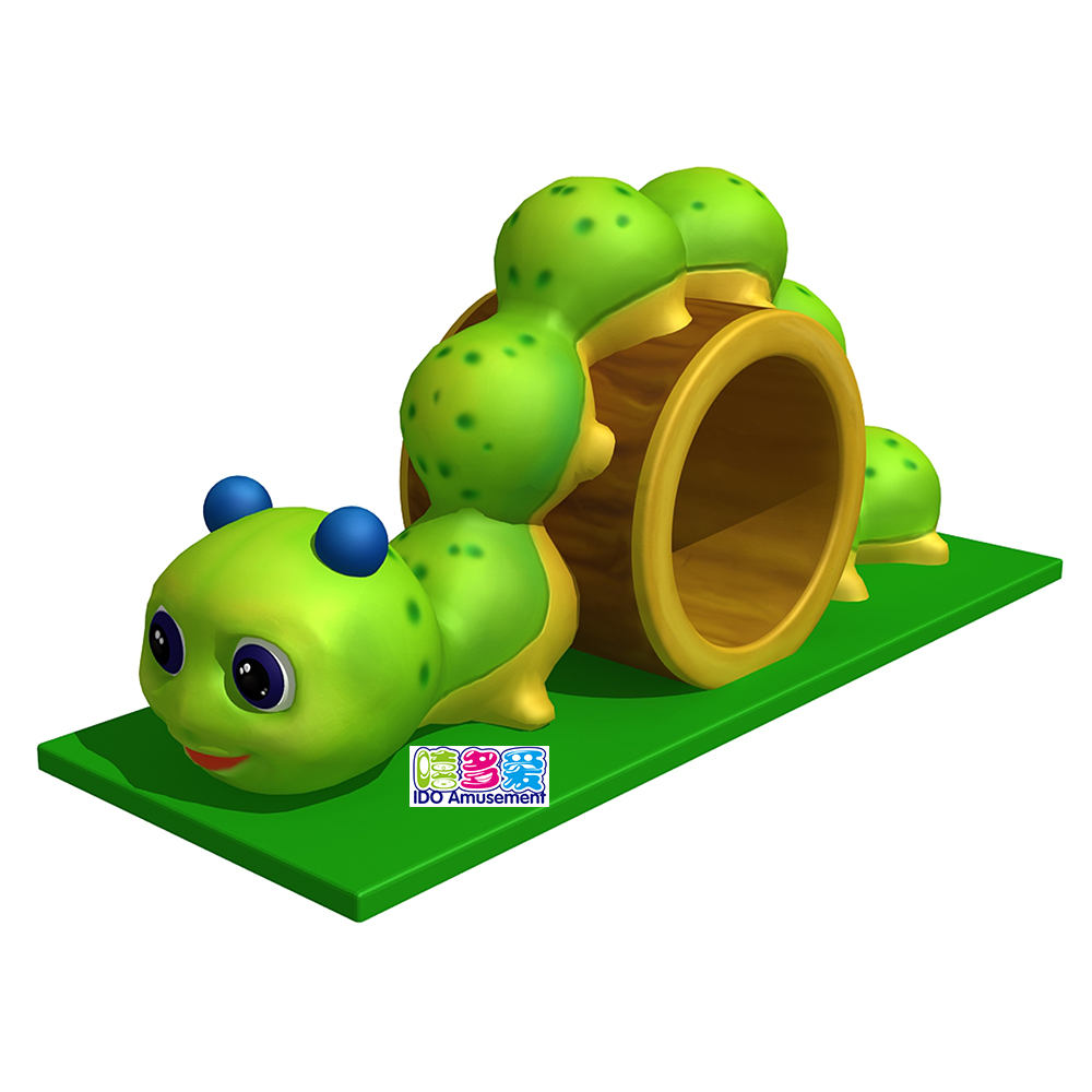 Professional China Electric Indoor Soft Play - Kids Indoor Playground Soft Play Equipment Toddler Soft Toy Reptile Drilled Hole for Children Hot Sales – IDO Amusement