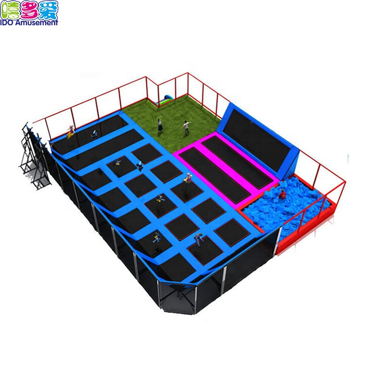 Fitness Equipment Gymnastics Trampoline Jump Park,Trampoline Parks Indoor
