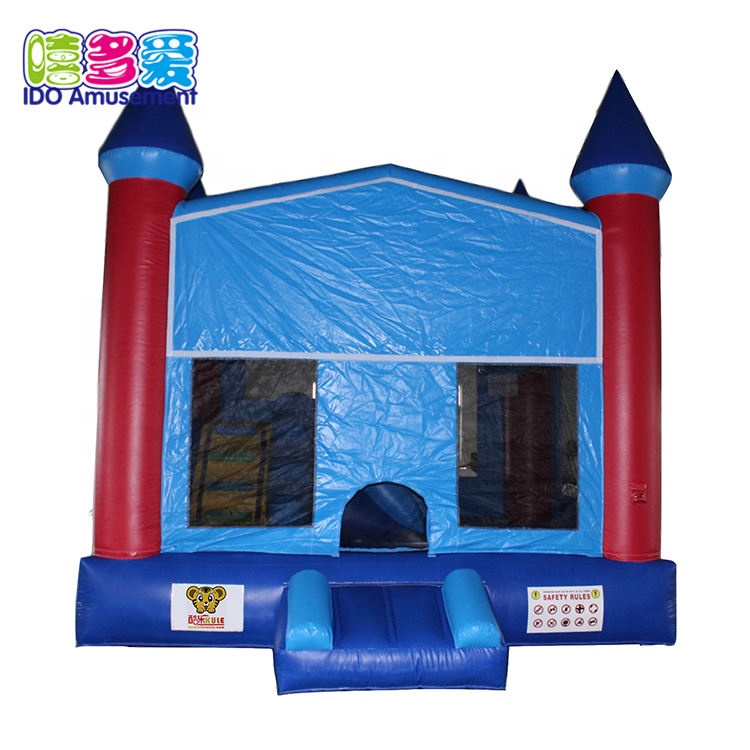 High Quality Jumping Mat Trampoline Park - Kids Obstacle Course Jumping Castle With Slide Bounce For Sale – IDO Amusement