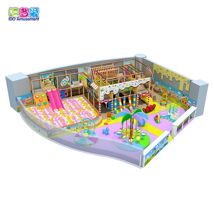Princess candy play toys small indoor sports playground for sale