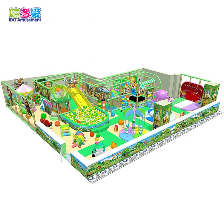 Hot sale Factory Kids Entertaining Indoor Playground - Ido Amusments Kid Game Used Indoor Playground Equipment For Sale – IDO Amusement