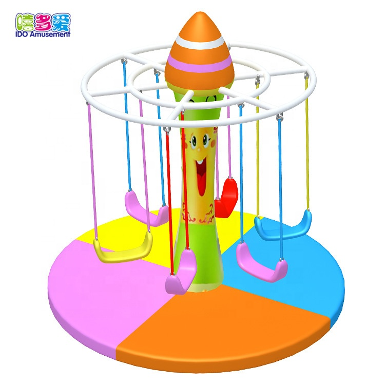China Cheap price Electric Indoor Soft Play For Kids - Electric indoor playground equipment-Children electric swing – IDO Amusement