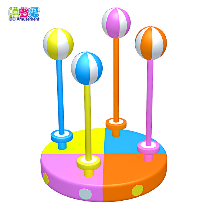 Kids play toys jumping balls indoor playground outdoor playground