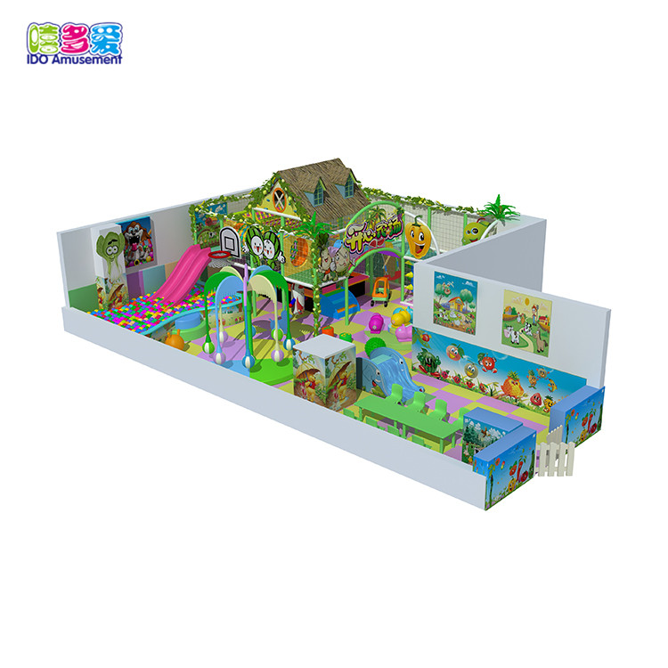 Primeval Forest kids indoor playground equipment jungle farm theme playground