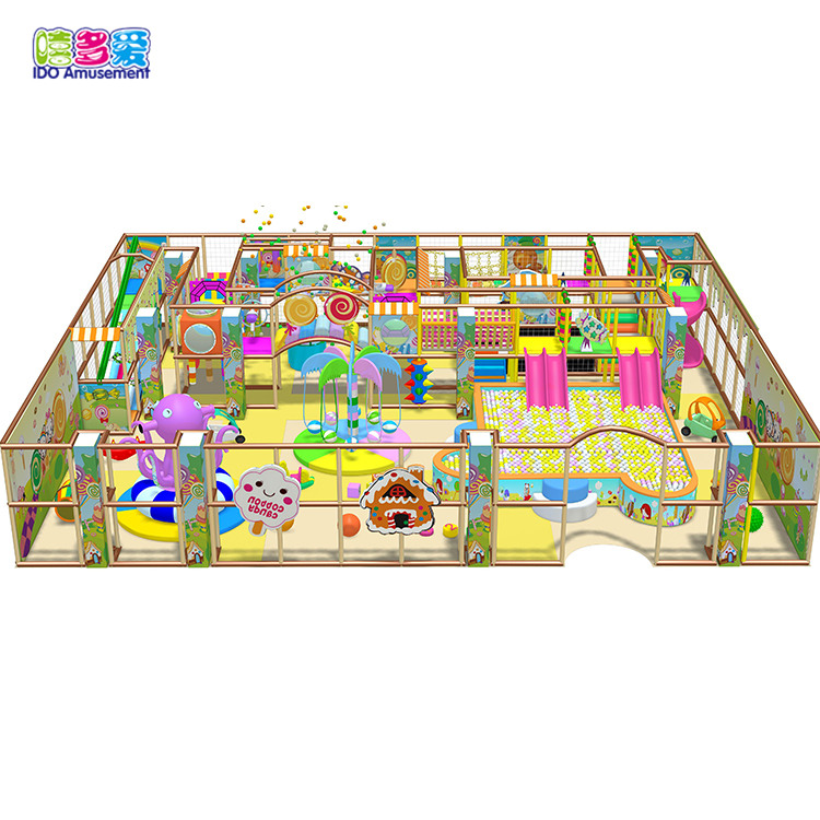 I Do toddler soft indoor playground equipment kids zone for shopping mall