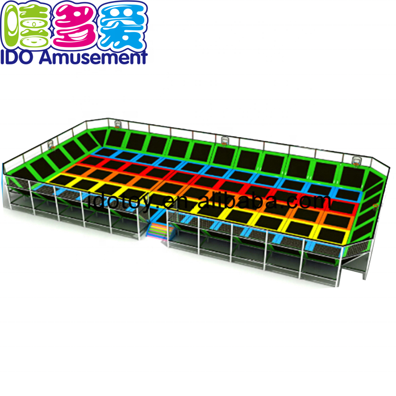 Indoor Playground Park Trampoline Equipment