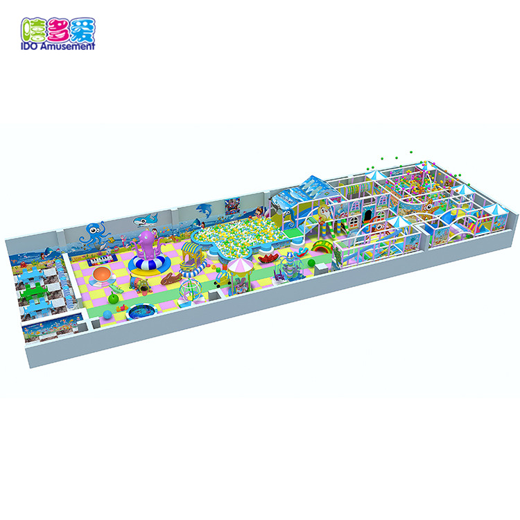 Multi-functional soft children indoor playground equipment for commercial