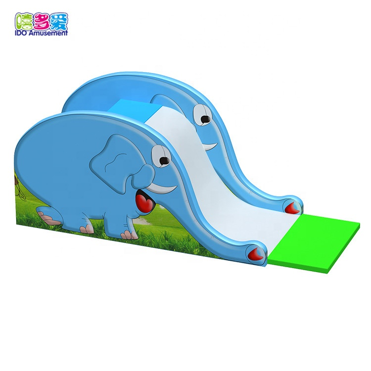 Factory Cheap Hot Electric Soft Play Equipment – Kids Elephant Indoor Soft Play Slide Equipment For Sale – IDO Amusement
