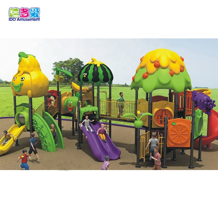 High Quality Wooden Playground Equipment Outdoor – Children Farm Themed Outdoor Play Ground Equipment – IDO Amusement