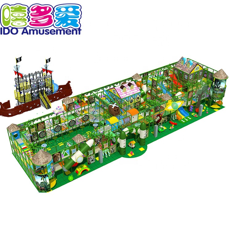 China wholesale Jungle Themed Indoor Playground - Guangzhou Hot Sale Amusement Park Indoor Jungle Gym For Kids – IDO Amusement