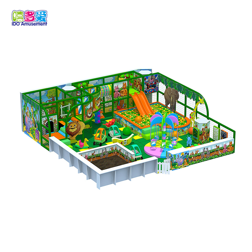 Professional China Commercial Jungle Indoor Playground - Guangzhou Biggest Playground Factory Children Slide Jungle Indoor Playground Equipment – IDO Amusement