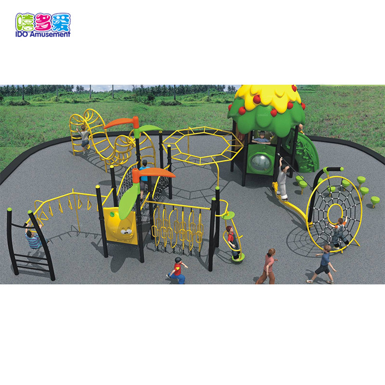 High Quality Wooden Playground Equipment Outdoor – Ido Amusements Teenage Obstacle Course Play Ground Equipment For School – IDO Amusement