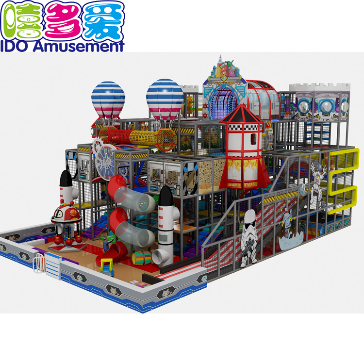 China wholesale Space Theme Indoor Playground – Kids Entertainment Center Amusement Park Equipment Indoor Playground For Mall – IDO Amusement