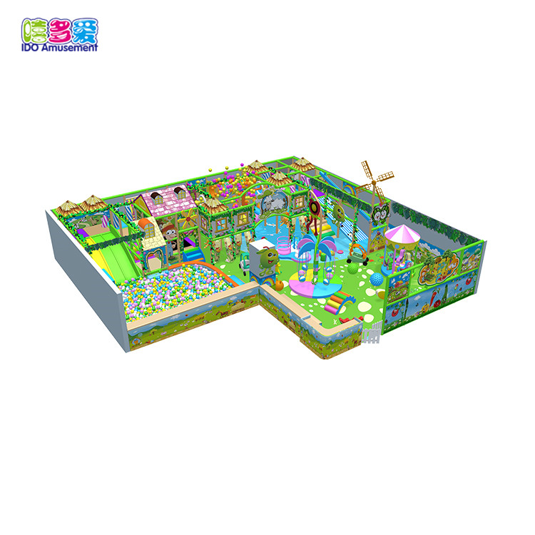 Accessories For Indoor Kid Playground,Farm Theme Play Center Kids Indoor Playground Equipment